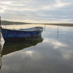 At Rest on the Fleet Dorset - greetings card