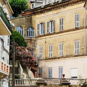 Corsican Town Buildings